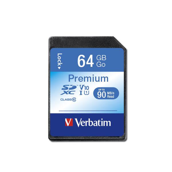 Verbatim Premium SDXC 64 GB