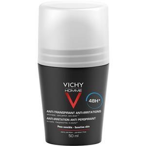 Vichy Homme Deodorante Antitranspirante 48h Pelli Sensibili Roll-On 50ml