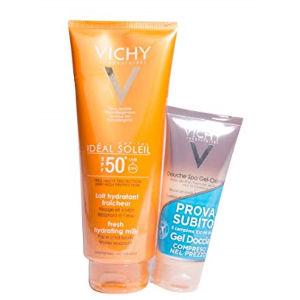 Vichy Ideal Soleil latte idratante SPF50+ doccia gel crema 100ml