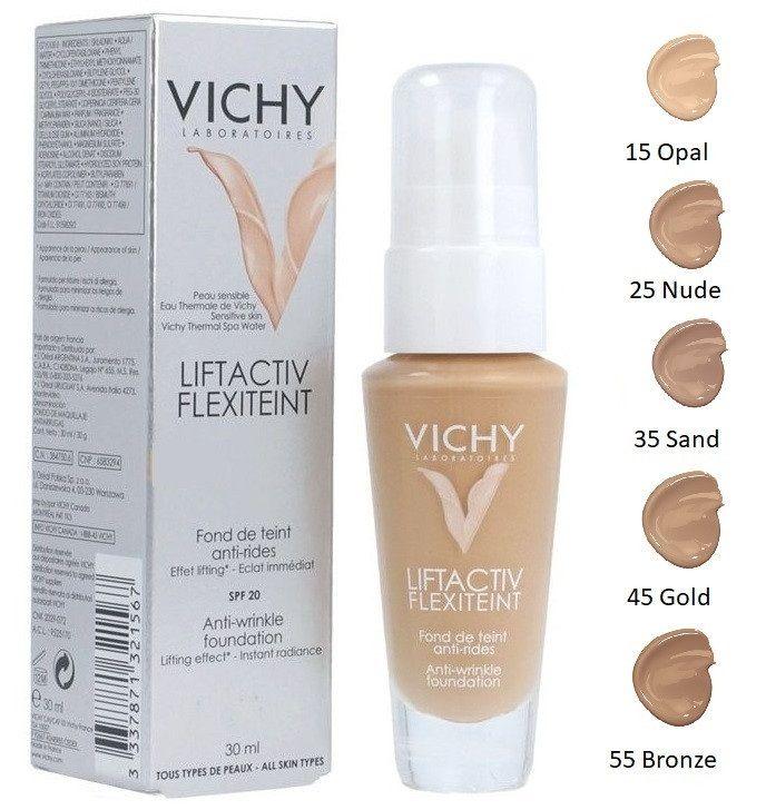 Vichy Liftactiv Flexilift Teint Fondotinta