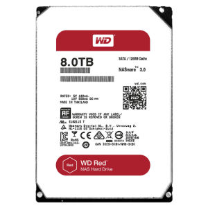 Western digital red wd80efzx 8tb
