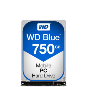 Western Digital WD Blue WD7500BPVX - 750 GB