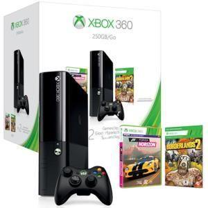 Microsoft Xbox 360 250 GB + Forza Horizon + Borderlands 2