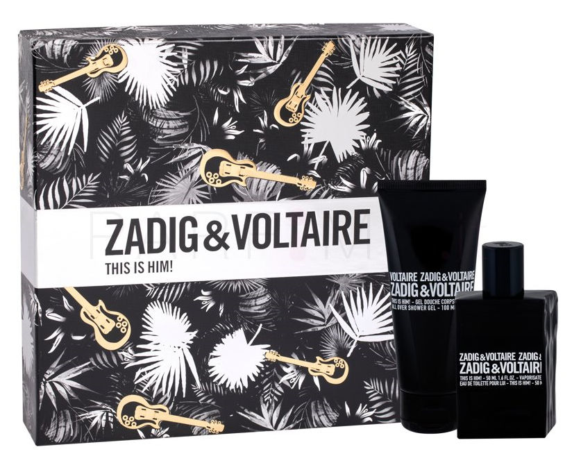 Zadig & Voltaire This Is Him! 50ml + Doccia Gel 100ml