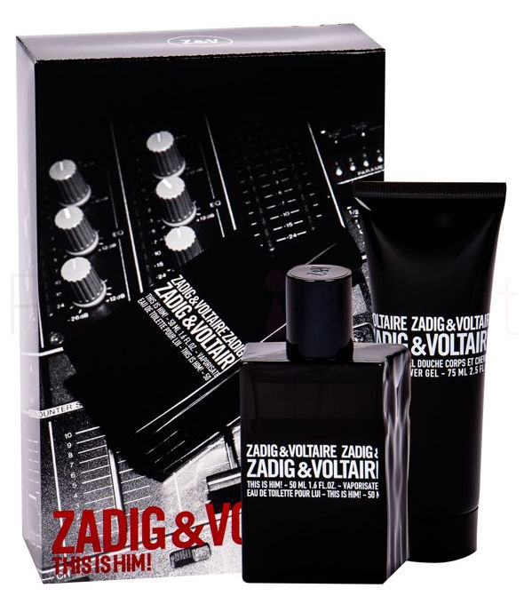 Zadig & Voltaire This Is Him! 50ml + Doccia Gel 75ml