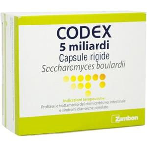 Zambon Codex 5 mld 250mg 30 capsule