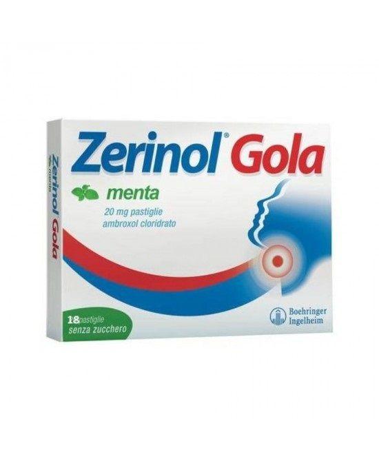 Sanofi Zerinol gola menta 18 pastiglie 20mg