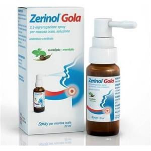 Sanofi Zerinol gola spray flacone 20ml