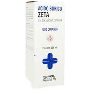 Zeta Farmaceutici Acido borico 3% 500ml