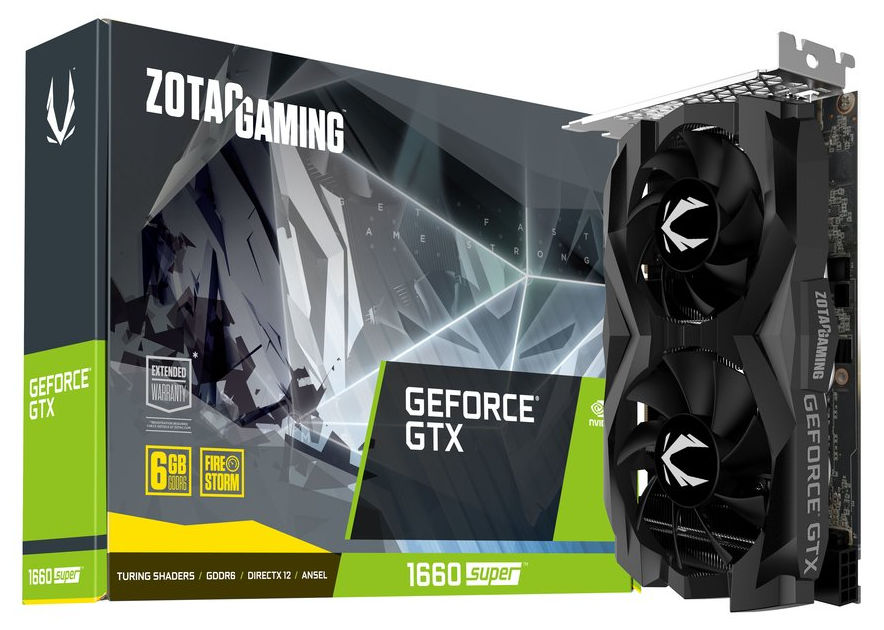 Zotac GAMING GeForce GTX 1660 SUPER Twin Fan 6GB